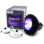 The Peak 415 Blue HP LED Powerhead by Smarterlights